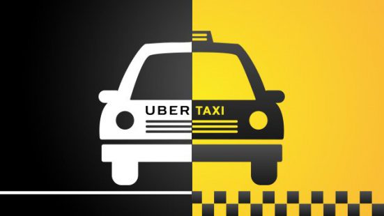 В путь с Uber  Sign Up to Drive or Tap and Ride  Uber