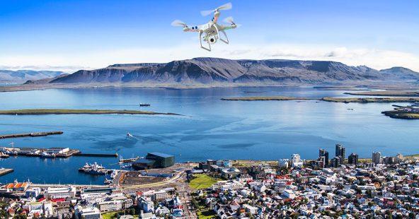 В европейском городе заработала доставка на дронах (видео)