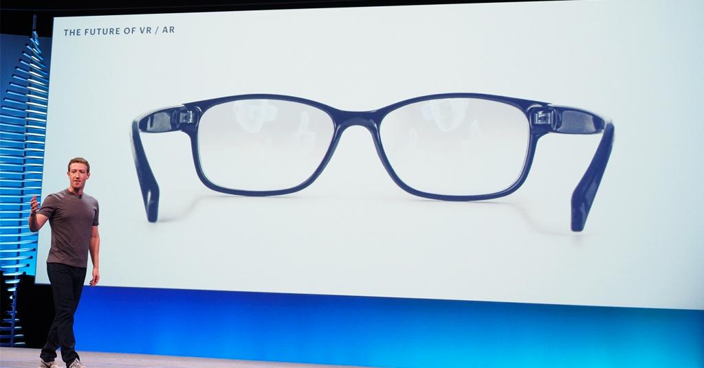 Facebook очки дополненной реальности