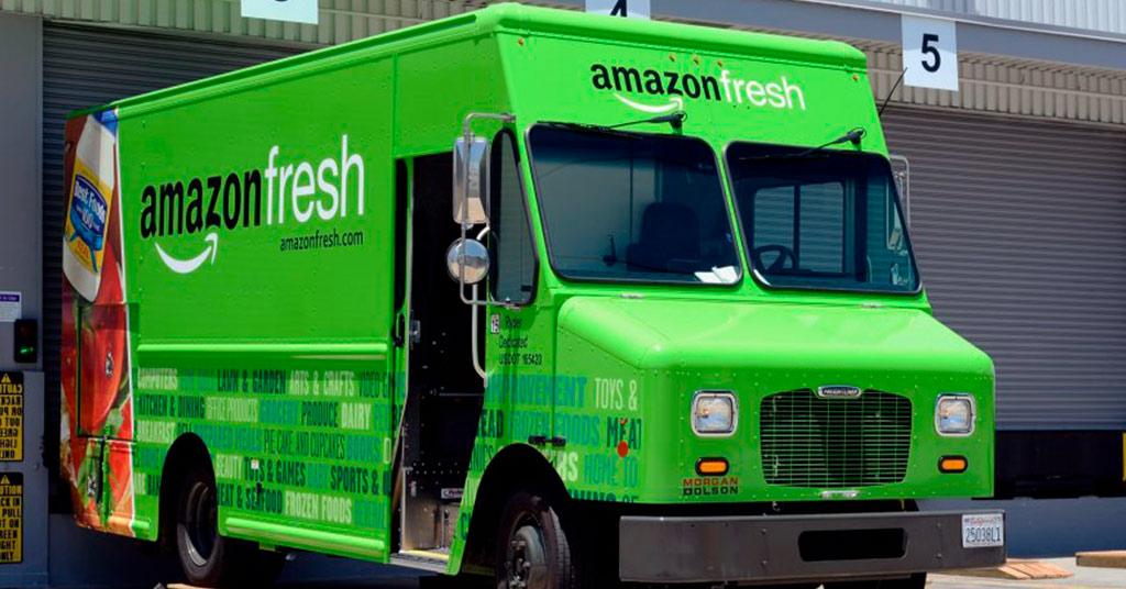 Amazon доставка еды