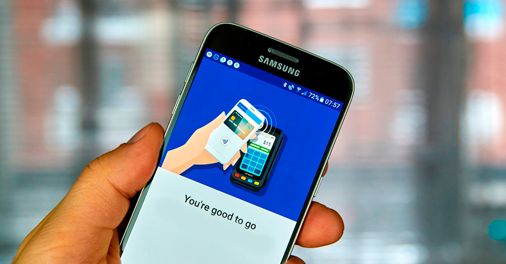 Объемы транзакций с Samsung Pay бьют рекорды