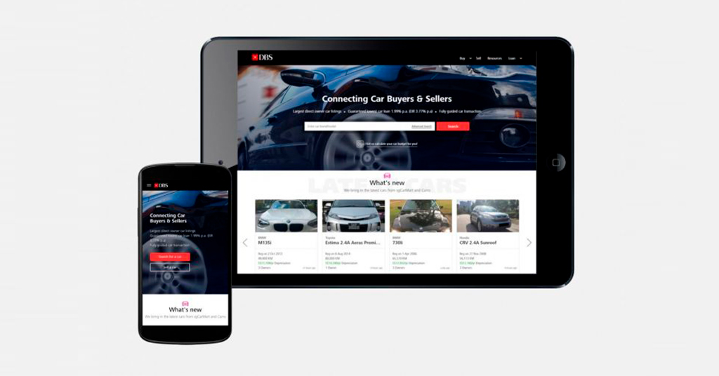 Банкиры в e-commerce: DBS Bank начал продавать автомобили онлайн
