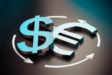 Курс евро к доллару достиг рекордного за последние два года уровня