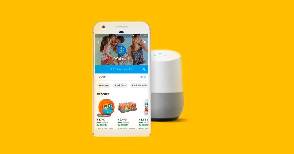 Голосовой шопинг: Walmart и Google представят совместное решение