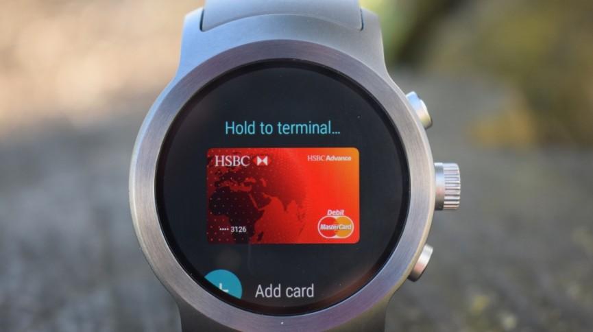 Cмарт-часы с NFC в Украине