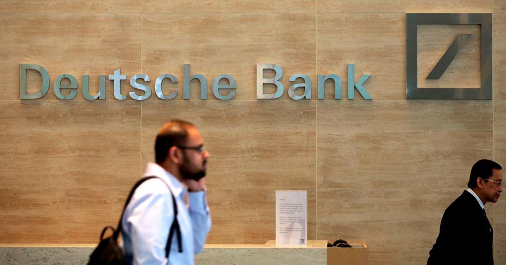 Роботы в Deutsche Bank