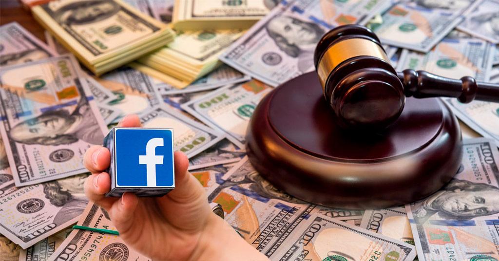 В Европе оштрафовали Facebook на крупную сумму