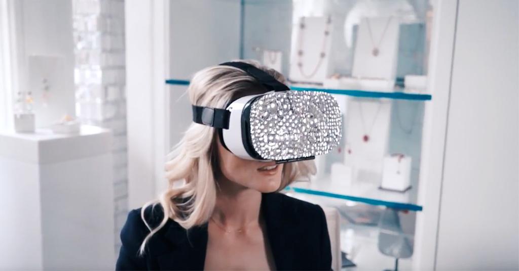 Mastercard и Swarovski запустили приложение для покупок в виртуальной реальности