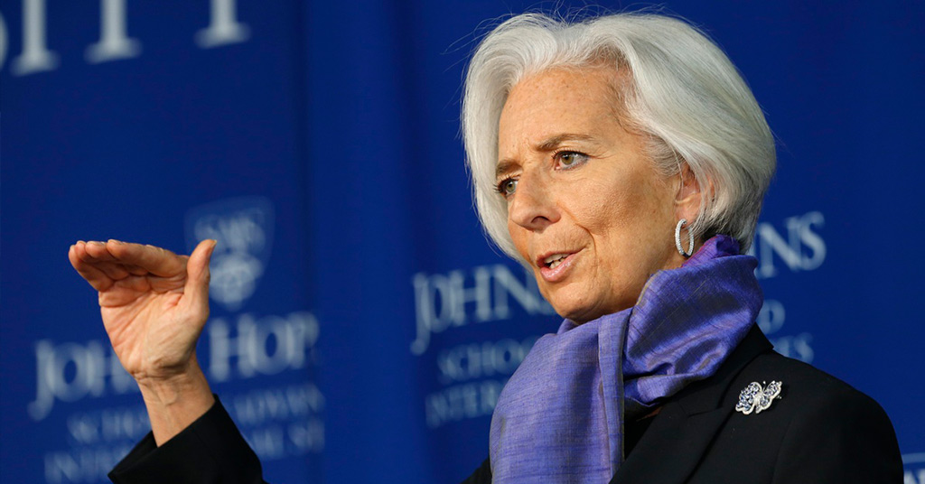 Цифровые валюты могут увеличить использование специальных прав заимствований— руководитель МВФ Лагард