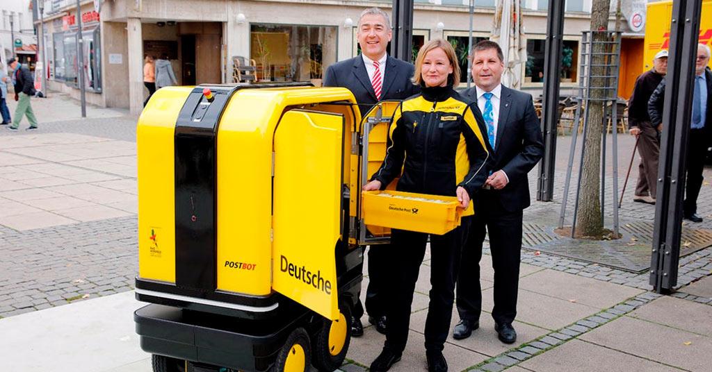 В Европе доставлять письма будут роботы