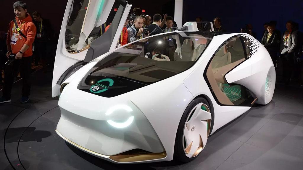 Тойота до 2020-ого года протестирует на дорогах Японии электрокары сискусственным интеллектом