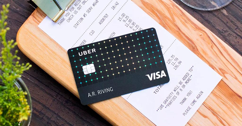 Uber представил собственную кредитную карту