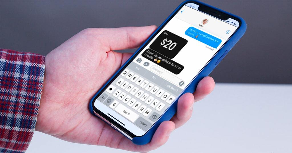 P2P-платежи Apple Pay Cash