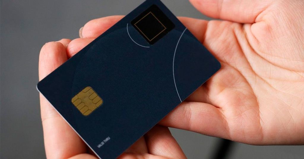 Биометрические платежные карты