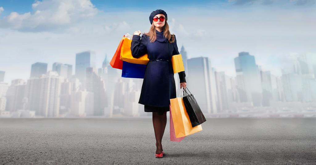 онлайн-шопинг в США