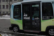 В Швеции курсируют автобусы без водителей