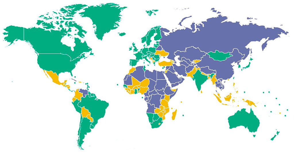 bitcoin-friendly страны