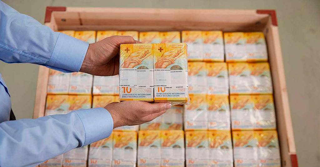 В Швейцарии появилась новая банкнота