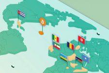 Государство Bitcoin: криптовалюту сравнили с разными странами (инфографика)