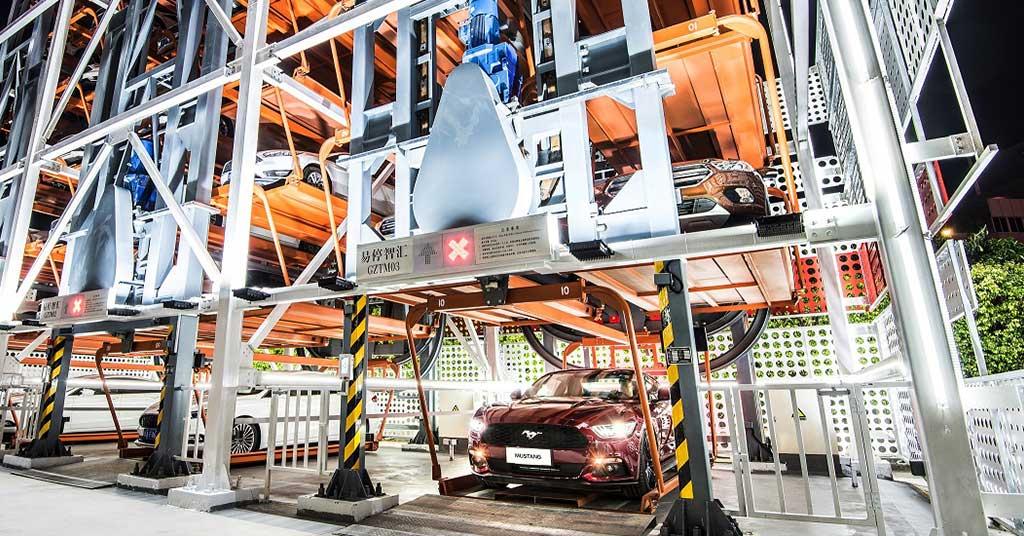В КНР открыли 1-ый торговый автомат попродаже авто