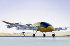 Гибрид самолета и вертолета: представлено автономное летающее такси