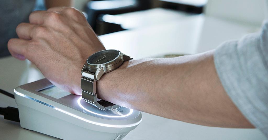 NFC в часах