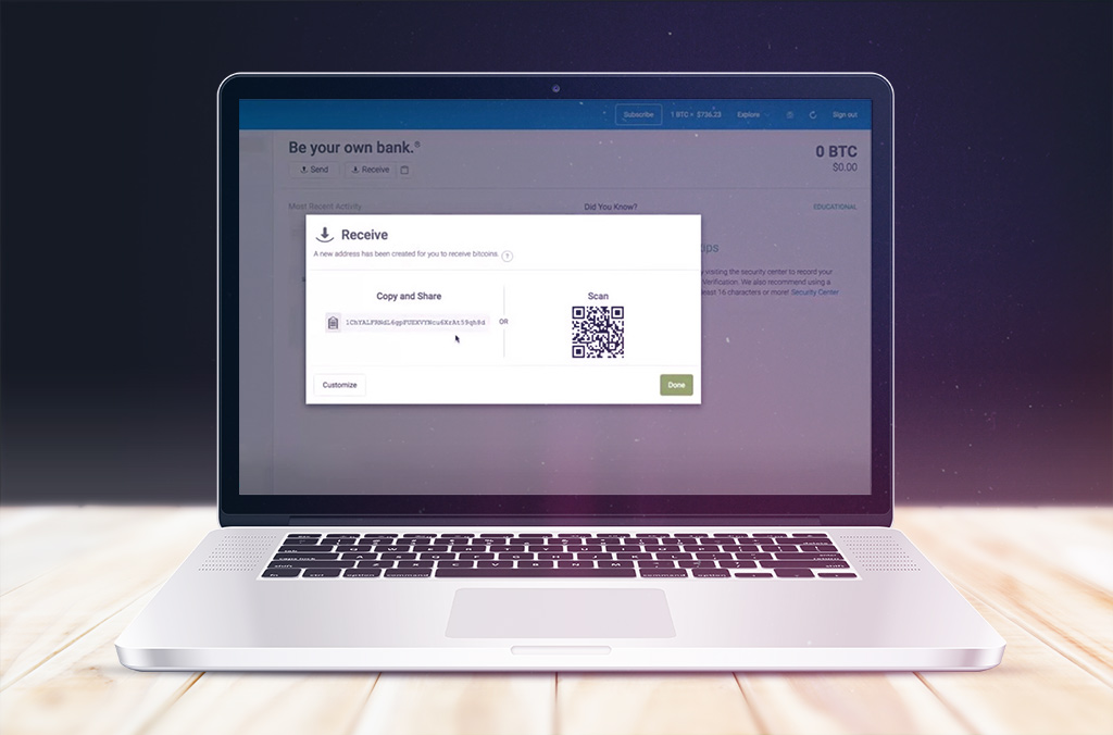 Як створити біткоін-гаманець