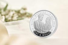Принца Гарри и его невесту изобразили на монетах — фото