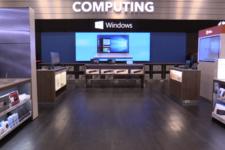 У Microsoft появились киоски самообслуживания