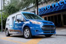 Ford протестирует новую систему доставки с помощью беспилотных авто