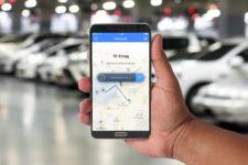 Смартфон упростит оплату парковки еще в одном городе Украины
