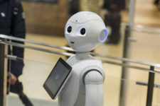 Крупнейший банк нанял на работу команду роботов