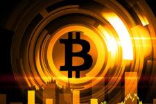 Цена биткоина возобновила стремительный рост