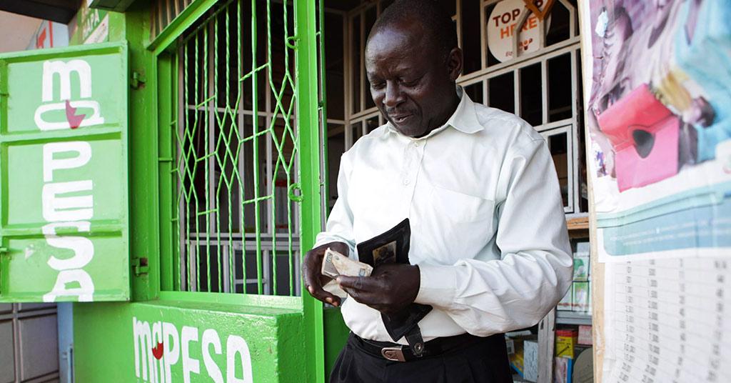 Как работает M-Pesa