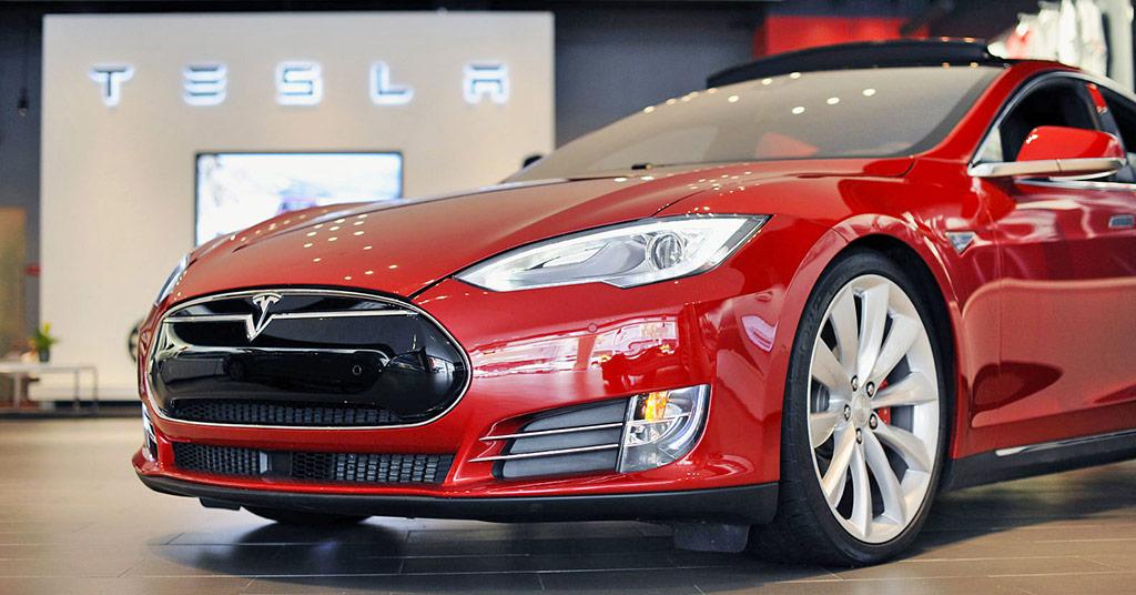 магазины Tesla