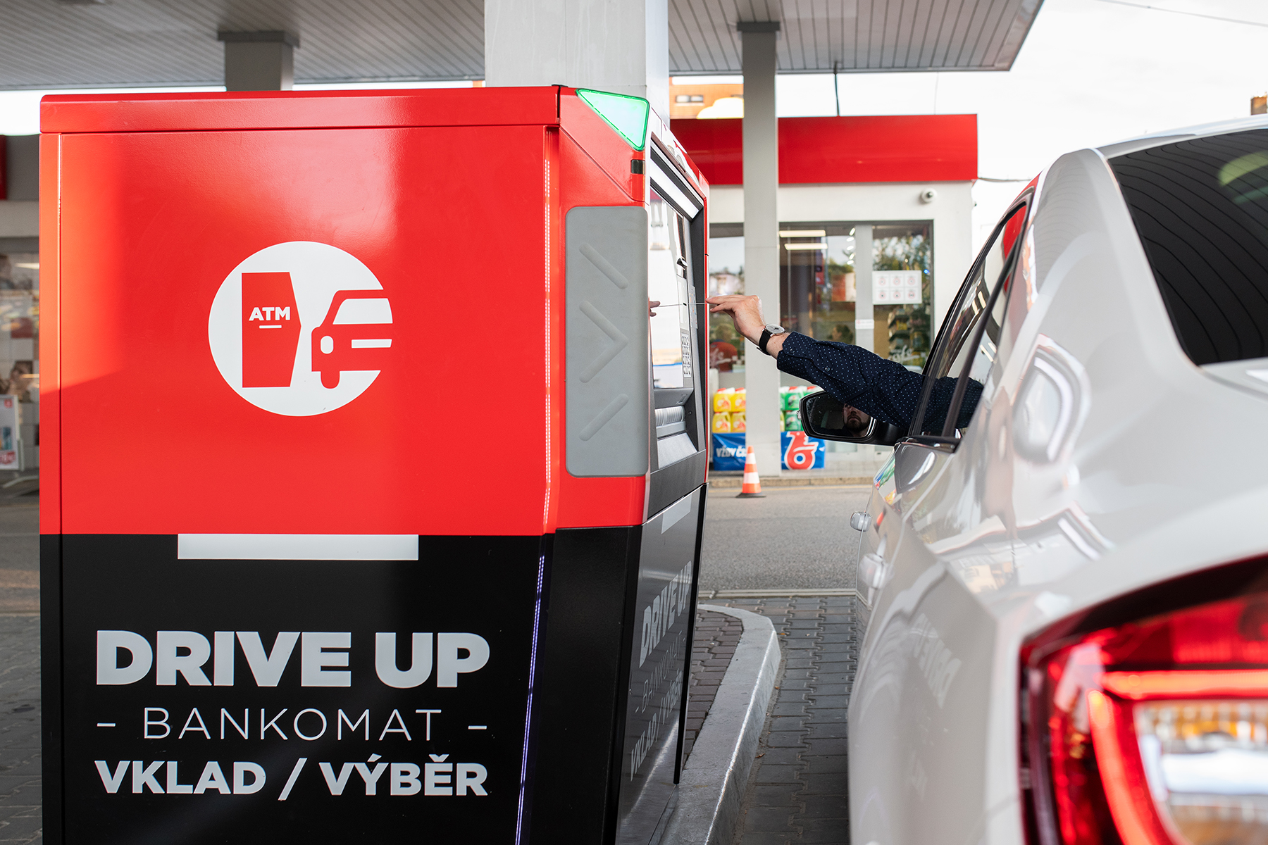 банкомат для автомобилистов