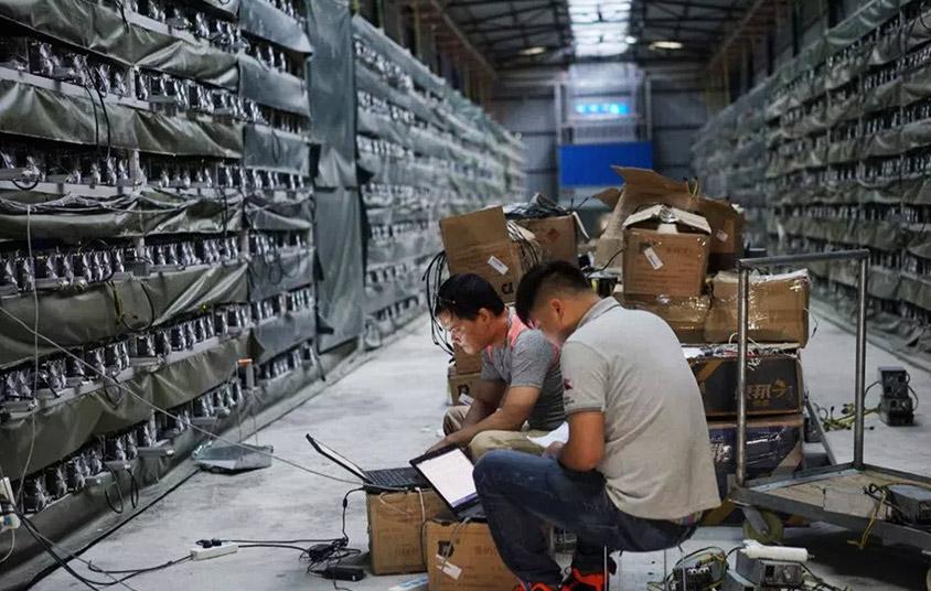 майнинговые фермы в Китае