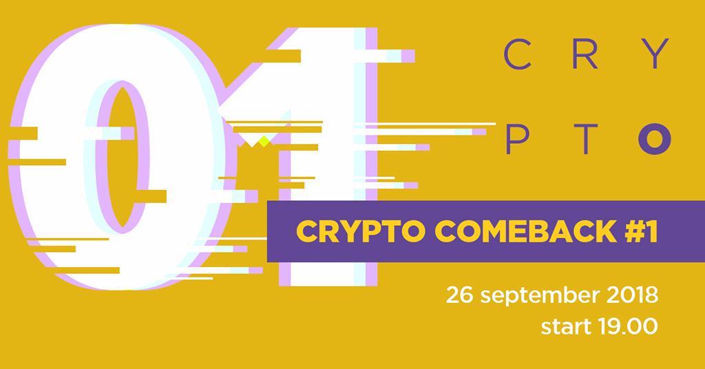 Crypto comeback #1