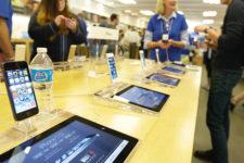 В одном из магазинов Apple внезапно взорвался iPad (видео)
