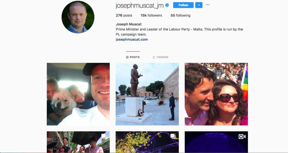 официальная страница в Instagram