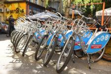 В Киеве появился автоматизированный велопрокат: как воспользоваться