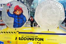 На новых британских монетах изобразили медвежонка (фото, видео)