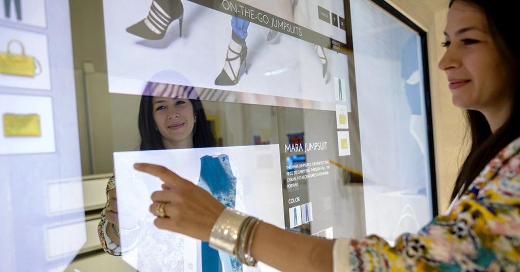 Магазин-робот: как выглядит шопинг будущего (фото, видео)