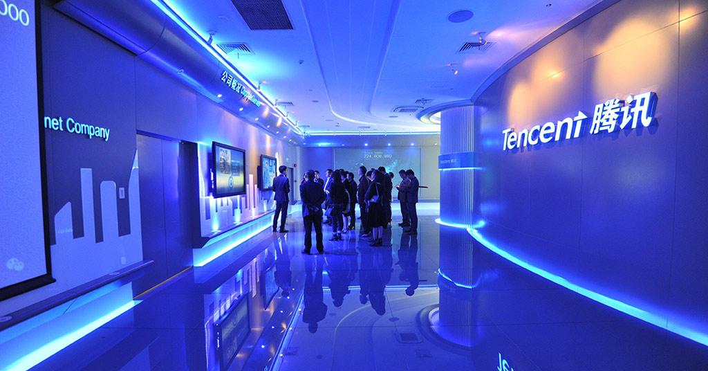 Капитализация Tencent упала с начала года на $214 млрд