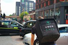 Uber изменил тарифы на доставку еды