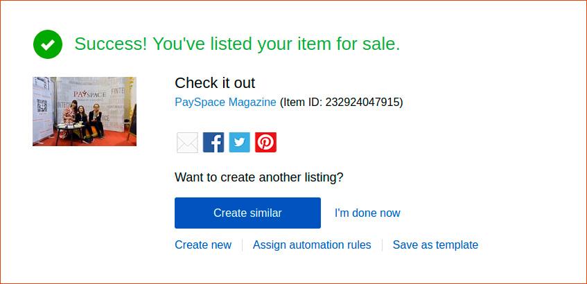как начать продавать вещи на ebay