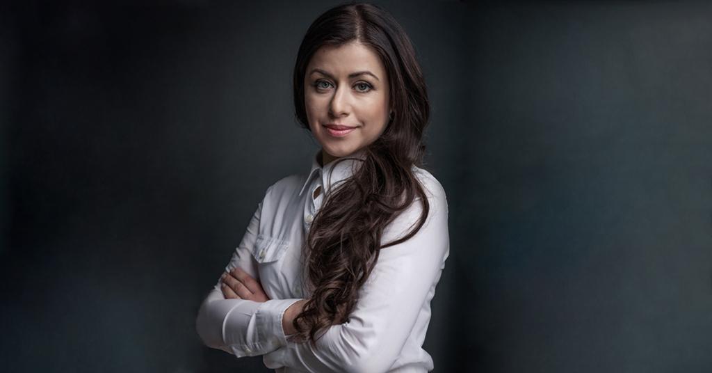 Инга Андреева, глава Mastercard Украина