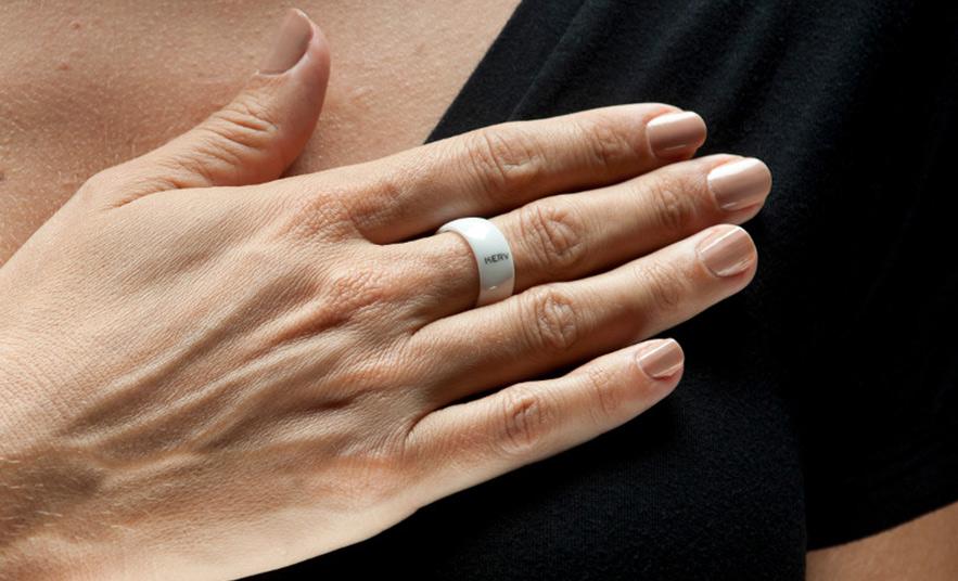 смарт-кольцо с NFC