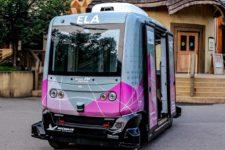 Еще один город будет возить туристов на беспилотном автобусе