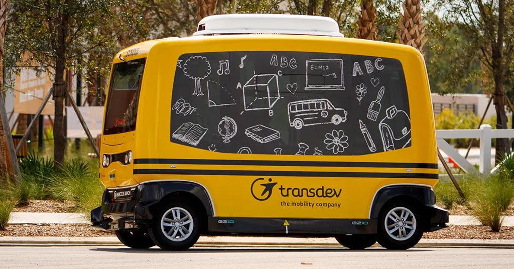 беспилотные школьные автобусы